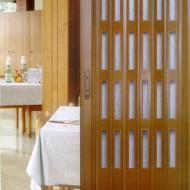 plastové lamelové dvere